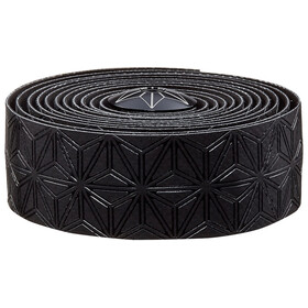 Supacaz Super Sticky Kush Starfade Handlebar Tape, black/oil slick Star Plugz